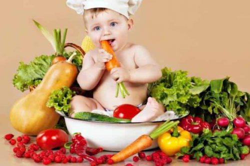 Xây dựng chế độ ăn uống thích hợp cho trẻ
